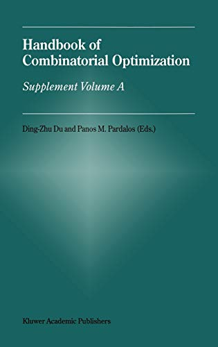 9780792359241: Handbook of Combinatorial Optimization: Supplement Volume a: Supplemental v.A