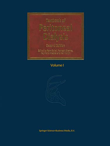 Textbook of Peritoneal Dialysis.: Gokal, R ; Khanna, R [Eds]