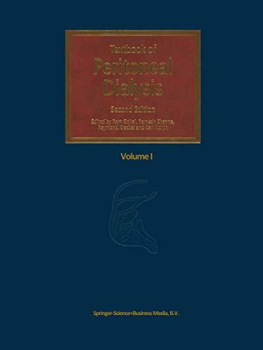 9780792359678: Textbook of Peritoneal Dialysis