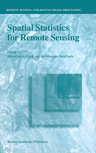 9780792359784: Spatial Statistics for Remote Sensing (REMOTE SENSING AND DIGITAL IMAGE PROCESSING Volume 1)