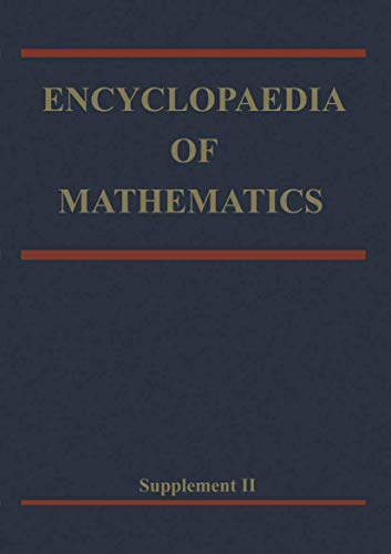9780792361145: Encyclopaedia of Mathematics: Supplement Volume II