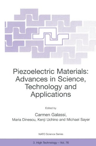 9780792362128: Piezoelectric Materials: Advances in Science, Technology and Applications (NATO Science Partnership Sub-Series: 3:)