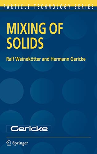 9780792362296: Mixing of Solids (Particle Technology Series)