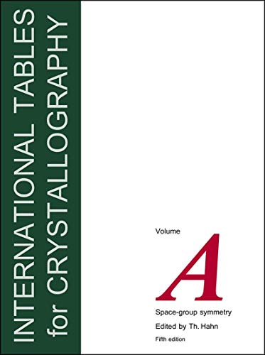 9780792365907: International Tables for Crystallography, Volume A: Space Group Symmetry: Space Group Symmetry v.A