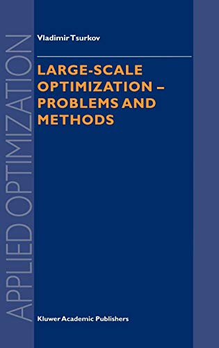 9780792368175: Large-scale Optimization: Problems and Methods (Applied Optimization)