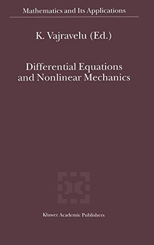 9780792368670: Differential Equations and Nonlinear Mechanics (Mathematics and Its Applications)