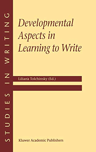 9780792369790: Developmental Aspects in Learning to Write (Studies in Writing)