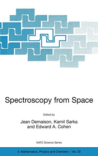 9780792369929: Spectroscopy from Space (Nato Science Series II:)