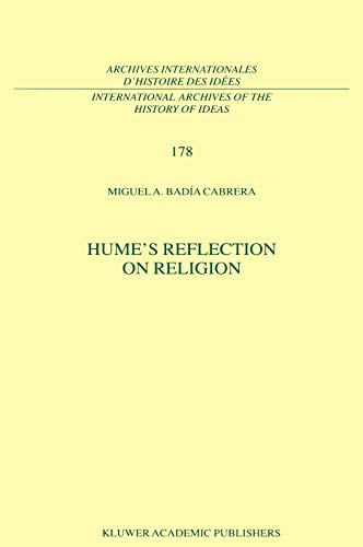9780792370246: Hume's Reflection on Religion (International Archives of the History of Ideas Archives internationales d'histoire des idées)