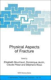 9780792371465: Physical Aspects of Fracture