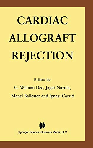 Cardiac Allograft Rejection (Hardback)