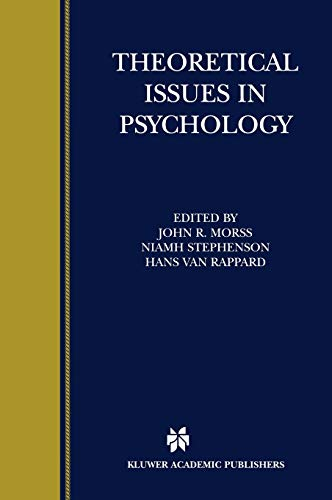 Theoretical Issues in Psychology: Morss, John R.