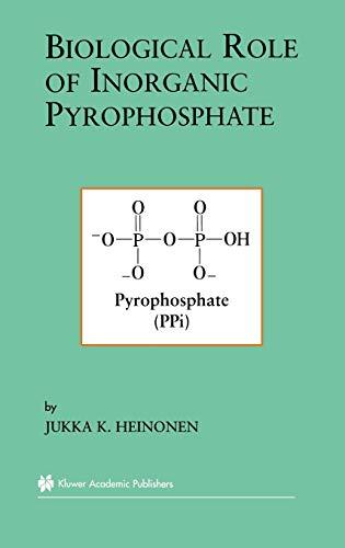 9780792374411: Biological Role of Inorganic Pyrophosphate