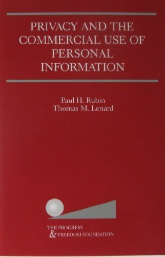 9780792375838: Privacy and the Commercial Use of Personal Information