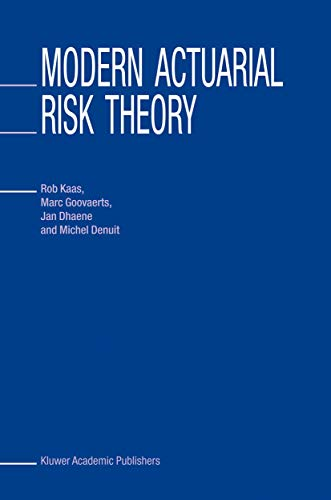 9780792376361: Modern Actuarial Risk Theory