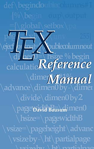 9780792376736: TeX Reference Manual