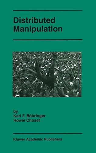 9780792377283: Distributed Manipulation