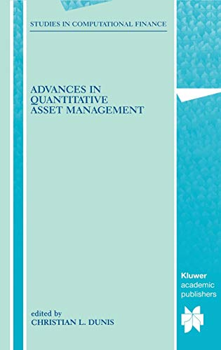 9780792377788: Advances in Quantitative Asset Management (Studies in Computational Finance)