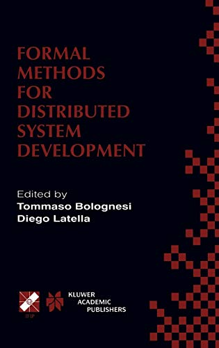 Formal Methods for Distributed System Development.
