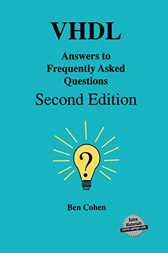 9780792381150: VHDL Answers to Frequently Asked Questions