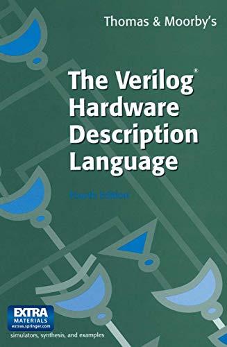 9780792381662: The Verilog Tm Hardware Description Language