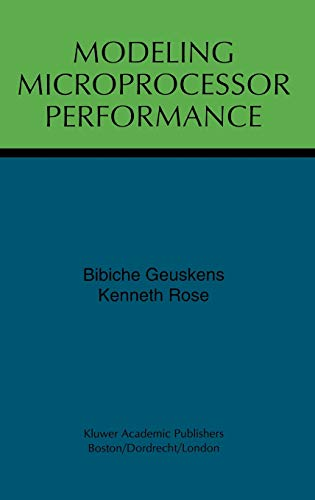 9780792382140: Modeling Microprocessor Performance