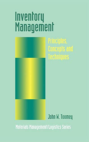 9780792383246: Inventory Management: Principles, Concepts and Techniques (Materials Management Logistics Series)