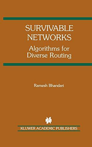 Survivable Networks: Ramesh Bhandari