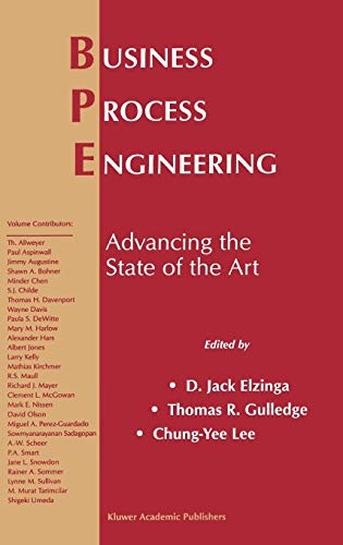 Business Process Engineering: Advancing the State of the Art: Springer