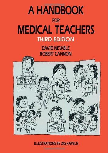 9780792388500: A Handbook for Medical Teachers
