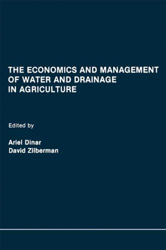 The Economics and Management of Water and