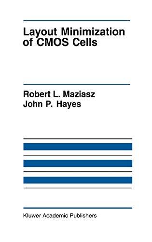 Layout Minimization of CMOS Cells: John P. Hayes