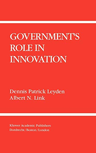 9780792392613: Government's Role in Innovation