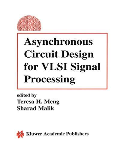 9780792393979: Asynchronous Circuit Design for VLSI Signal Processing