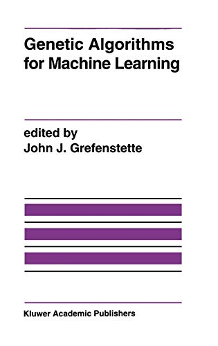 9780792394075: Genetic Algorithms for Machine Learning