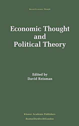 9780792394334: Economic Thought and Political Theory (Recent Economic Thought)