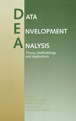 9780792394792: Data Envelopment Analysis: Theory, Methodology, and Application