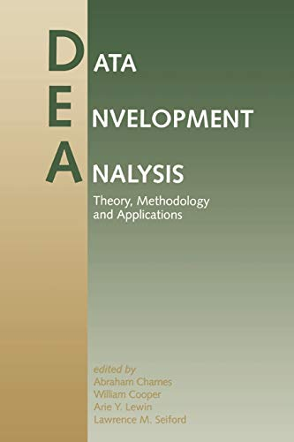 9780792394808: Data Envelopment Analysis: Theory, Methodology, and Applications