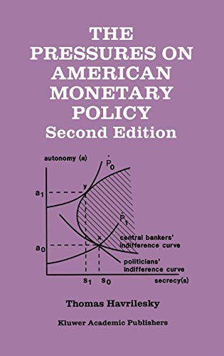 9780792395614: The Pressures on American Monetary Policy