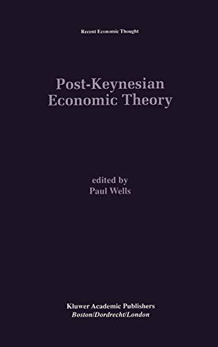 9780792395706: Post-Keynesian Economic Theory (Recent Economic Thought)