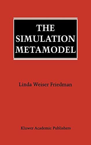 9780792396482: The Simulation Metamodel