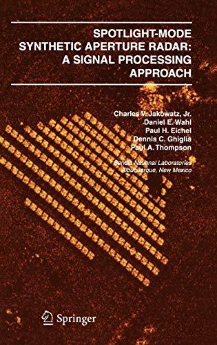 9780792396772: Spotlight-Mode Synthetic Aperture Radar: A Signal Processing Approach