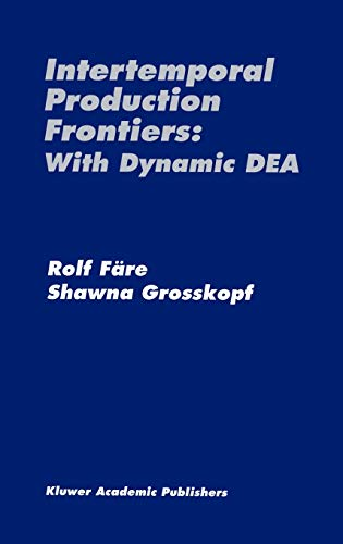 9780792397090: Intertemporal Production Frontiers: With Dynamic Dea