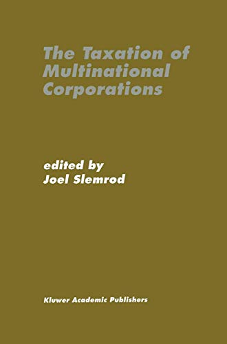 9780792397199: The Taxation of Multinational Corporations