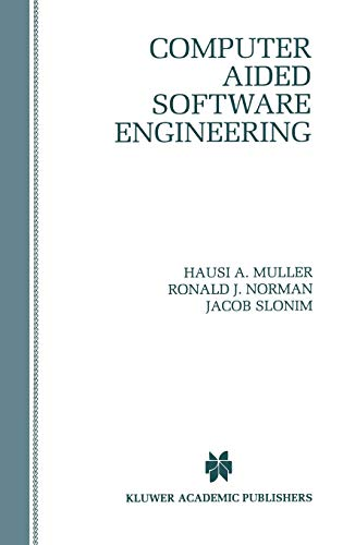 9780792397731: Computer Aided Software Engineering