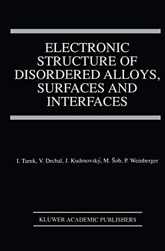 Electronic Structure of Disordered Alloys, Surfaces and Interfaces: Václav Drchal