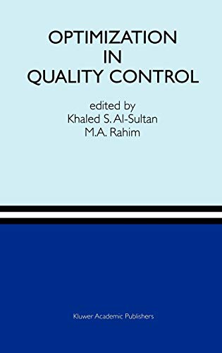 9780792398899: Optimization in Quality Control