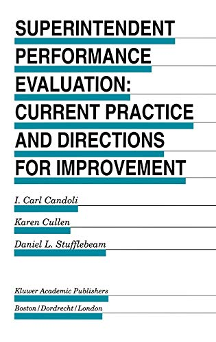 9780792398912: Superintendent Performance Evaluation: Current Practice and Directions for Improvement (Evaluation in Education and Human Services)