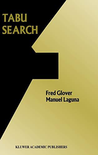9780792399650: Tabu Search