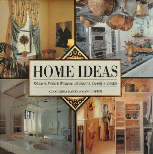 9780792458456: Home Ideas: Kitchens, Walls and Windows, Bathrooms, Storage and Closets